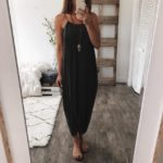 Women Summer Loose Straps Sleeveless Dress