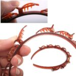Twister Braid Hairband (Pack of two- Random Colors)